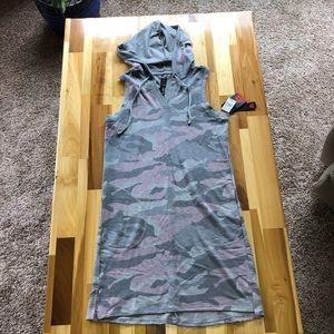 NWT Reebok Hooded Camo Dress.